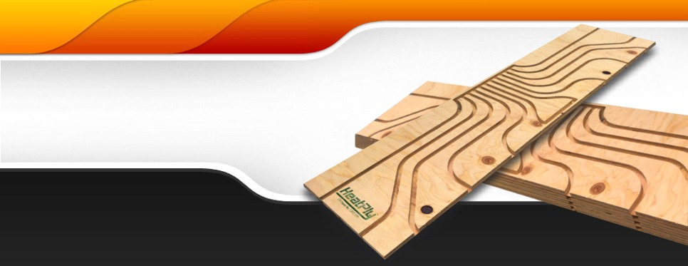 Radiant Heat Manifold Panel