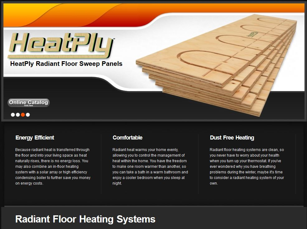 Radiant Heating Systems Radiant Floor Heating Heatply 174