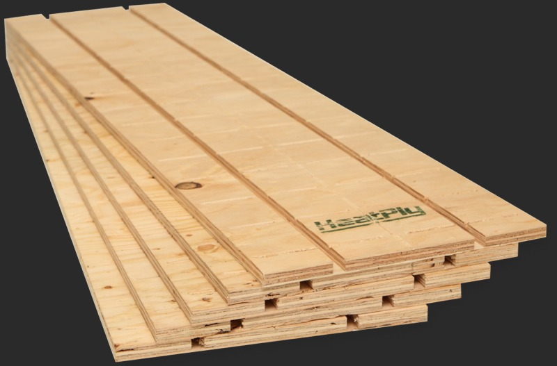 Straight Hydronic Radiant Heating Panel