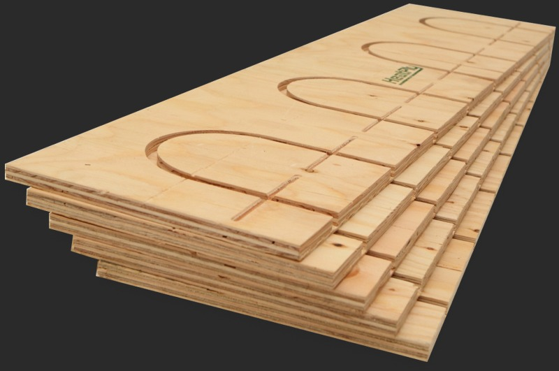 Hydronic Radiant Heating Turn Panels